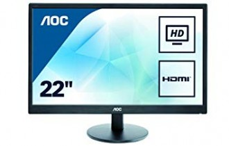 MONITOR AOC LED E2270Swhn 22